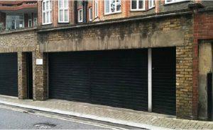 Garage Next to Harrods
