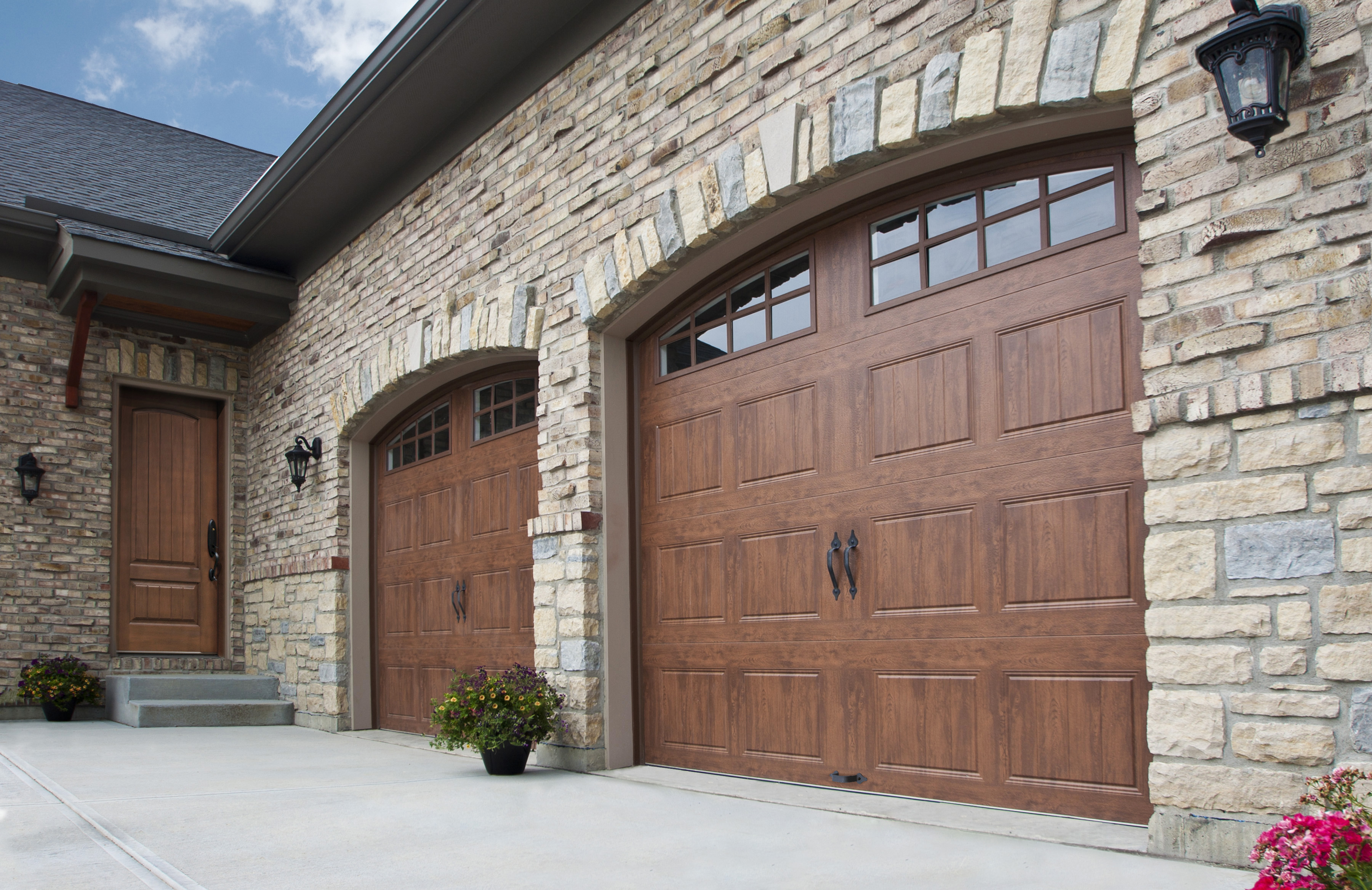 Garage Doors on a property