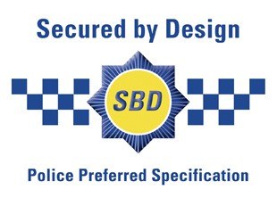 Secured By Design Garage Doors Logo