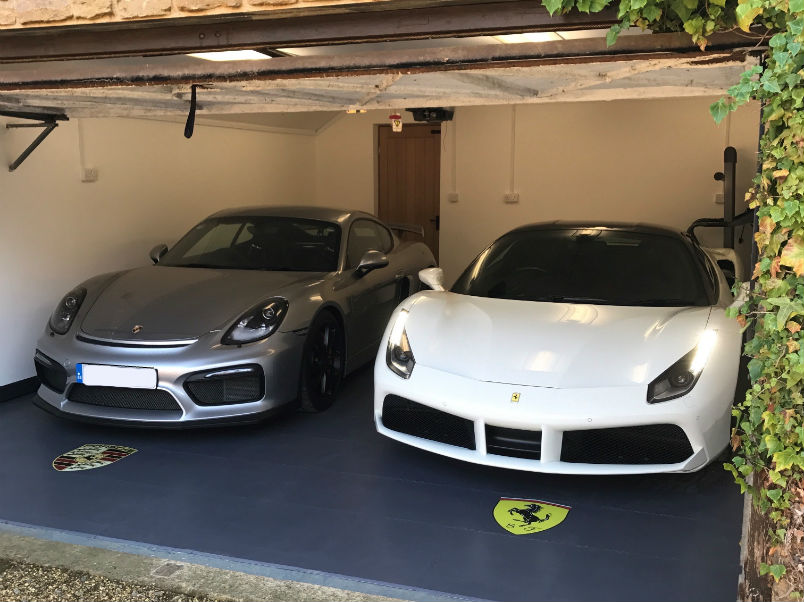 Garage Floor for Ferraris