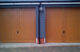 Garage doors bournemouth wimborne dorset cdc garage doors for Cedar garage doors prices