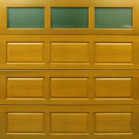 Cedar Door - York - Glazed